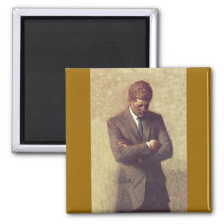 John F Kennedy Official Portrait Magnet
