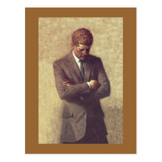 John_F_Kennedy_Official_Portrait Postcard