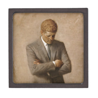 John F. Kennedy Official White House Portrait Keepsake Box
