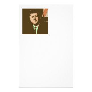 John F. Kennedy Papelería Personalizada