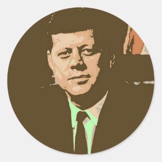 John F. Kennedy Etiqueta