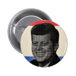John F. Kennedy Pin Redondo 5 Cm