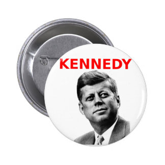 John F Kennedy Pinback Button