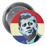 John F Kennedy Pinback Buttons