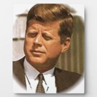 John F Kennedy Placa