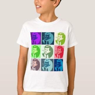 John F Kennedy Pop Art T-Shirt
