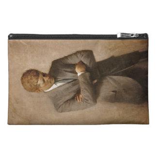John F. Kennedy Portrait Travel Accessory Bag