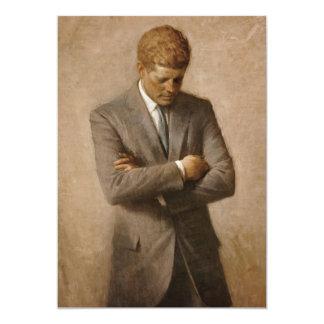 John F. Kennedy Portrait Card