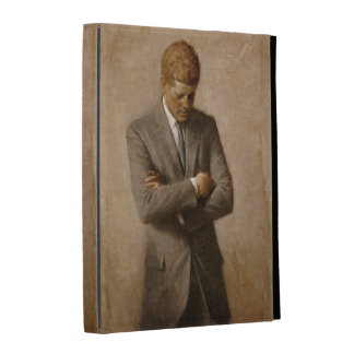 John F. Kennedy Portrait iPad Folio Covers