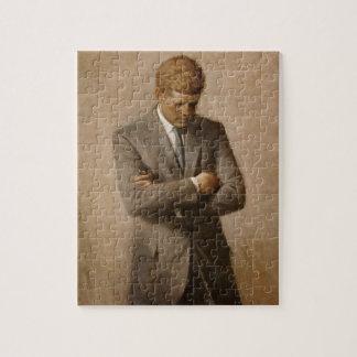 John F. Kennedy Portrait Jigsaw Puzzle
