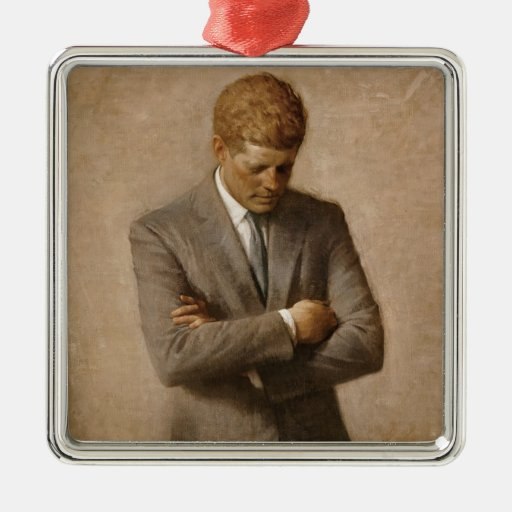 John F. Kennedy Portrait Ornament