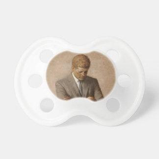 John F. Kennedy Portrait Pacifier