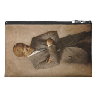 John F. Kennedy Portrait Travel Accessory Bag