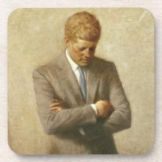 John F. Kennedy Posavasos De Bebidas