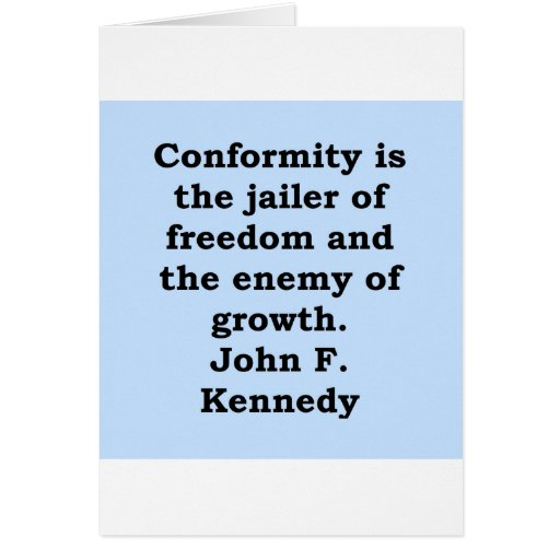 john f kennedy quote cards