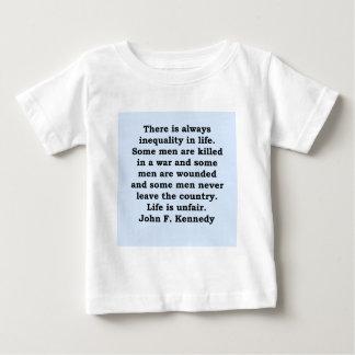 john f kennedy quote t shirt