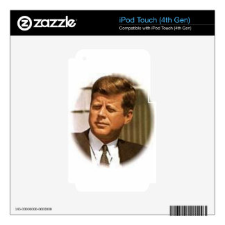 John F Kennedy Skin For iPod Touch 4G