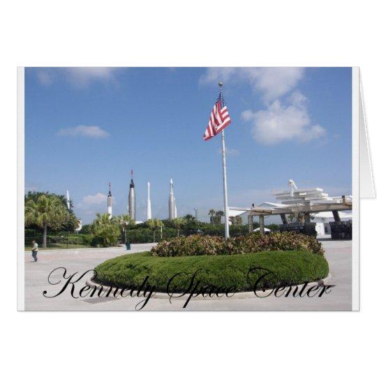 John F. Kennedy Space Center Card