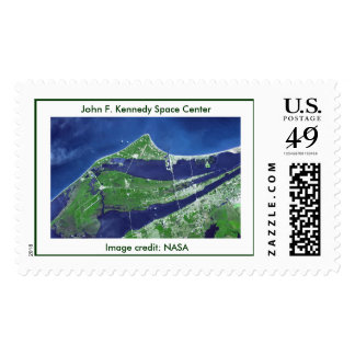 John F. Kennedy Space Center , Image ... Postage