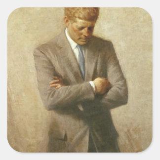 John F. Kennedy Square Sticker