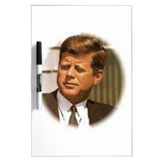 John F. Kennedy Tablero Blanco