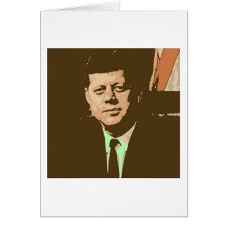 John F. Kennedy Tarjeton