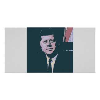 John F. Kennedy Tarjeta Personal