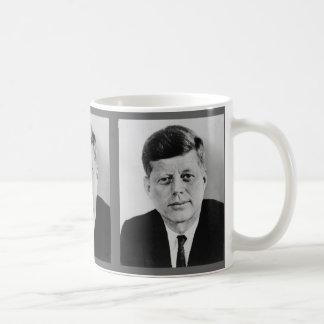John F. Kennedy Taza Básica Blanca