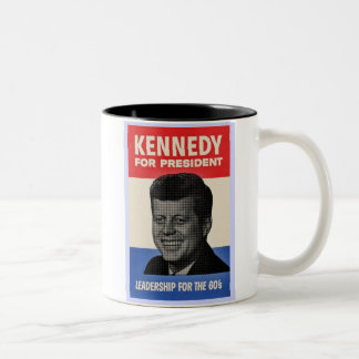 John F. Kennedy Taza De Dos Tonos
