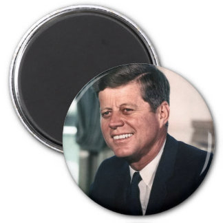 John F. Kennedy White House Color Portrait Magnet