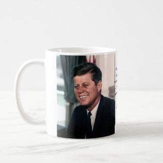 John F. Kennedy White House Color Portrait Classic White Coffee Mug