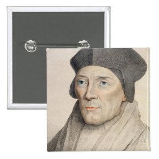 John Fisher, Bishop of Rochester (1469-1535) engra Button