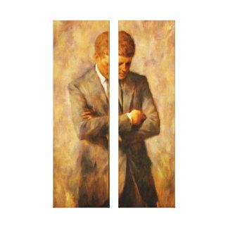 John Fitzgerald Kennedy Canvas Print