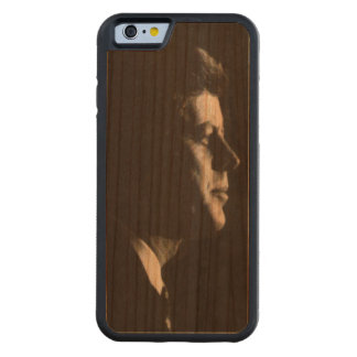 John Fitzgerald Kennedy Carved® Cherry iPhone 6 Bumper Case