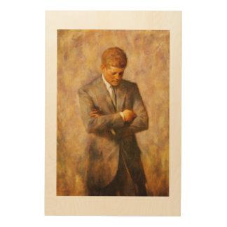 John Fitzgerald Kennedy Wood Wall Decor