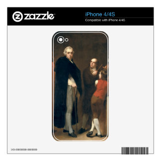John Flaxman (1755-1826) modelling his bust of Wil iPhone 4 Decals