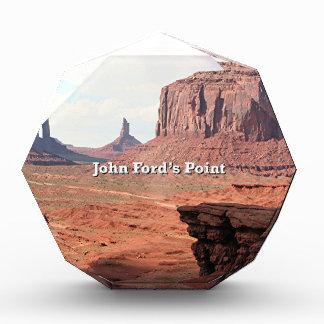John Ford's Point, Monument Valley, Utah (caption) Award