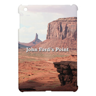 John Ford's Point, Monument Valley, Utah (caption) Cover For The iPad Mini