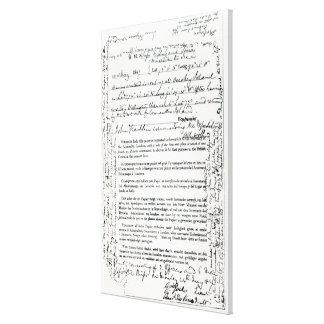 John Franklin's Message Canvas Prints