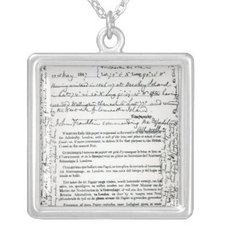 John Franklin's Message Necklace