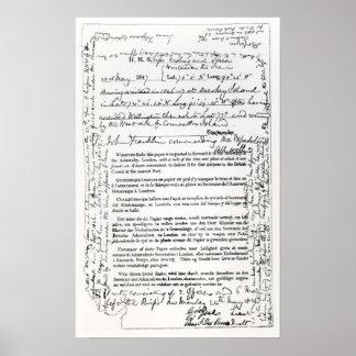 John Franklin's Message Poster