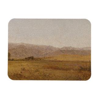 John Frederick Kensett - Snowy Range and Foothills Magnet