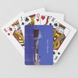 John G. Munson playing cards