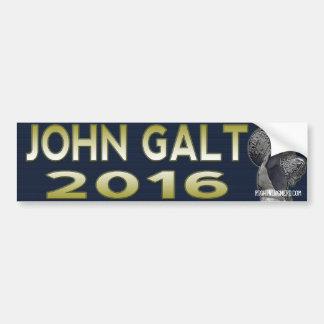 John Galt 2016 bumper sticker Car Bumper Sticker