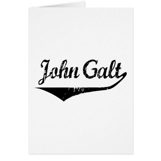 John Galt Greeting Cards