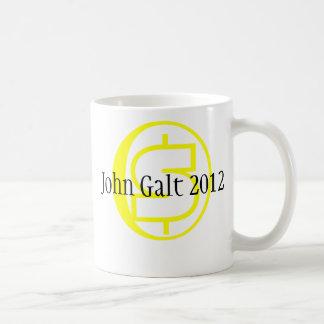 John Galt for President Classic White Coffee Mug