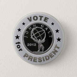 John Galt for President Pinback Button