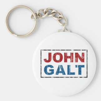 John Galt Keychain