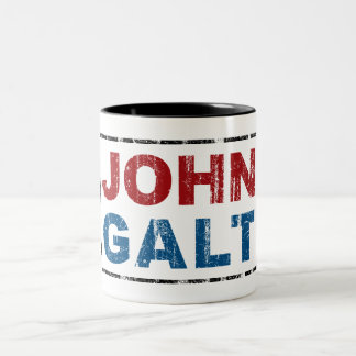 John Galt Two-Tone Coffee Mug