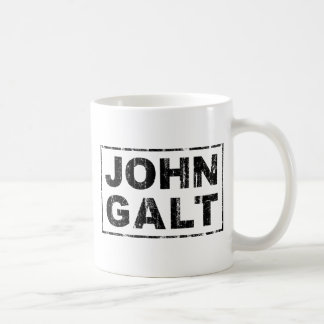 John Galt Classic White Coffee Mug